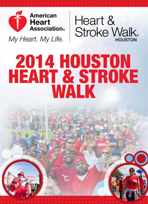 2014 Houston Heart & Stroke Walk Recap