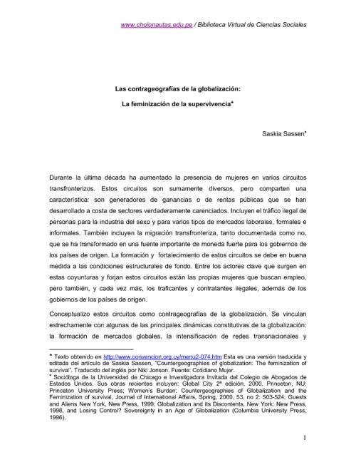 ANTROLOGÍAS. Estudios Urbanos IV.