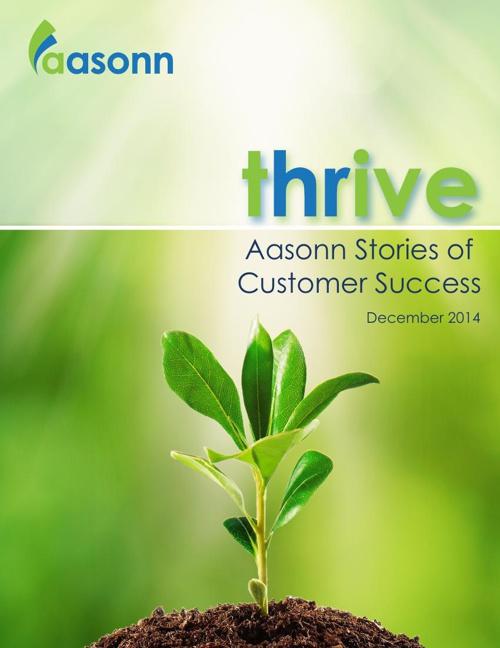 Thrive. Aasonn Stories of Customer Success