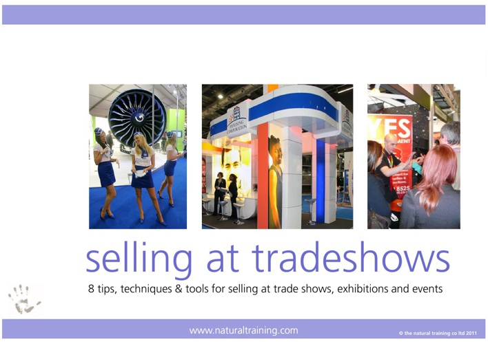 8 Tips for Selling at Trade Shows