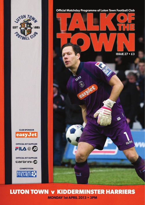 Town v Kidderminster Issue 27