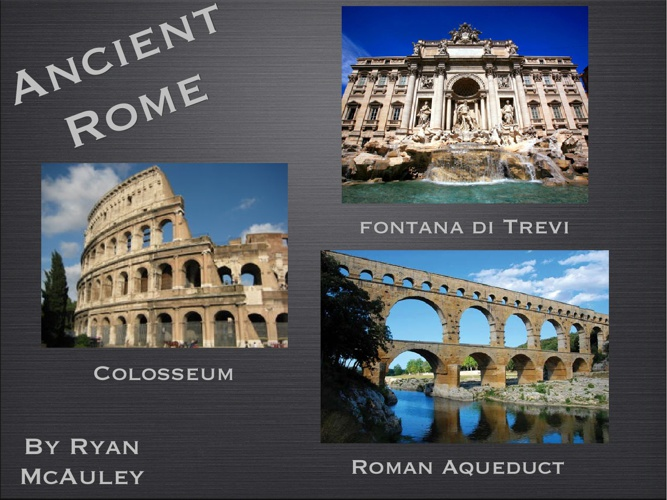 Ryan's Summative on Rome