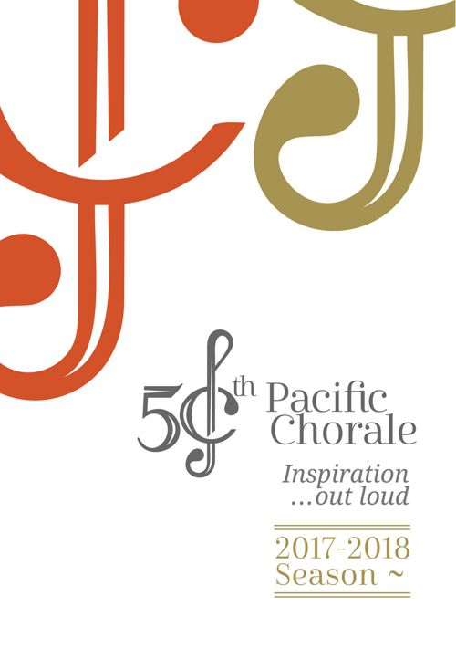 Pacific Chorale 17-18 50th Season Brochure