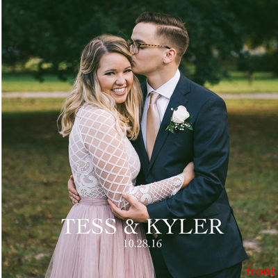 Kyler & Tess Wedding Book 2