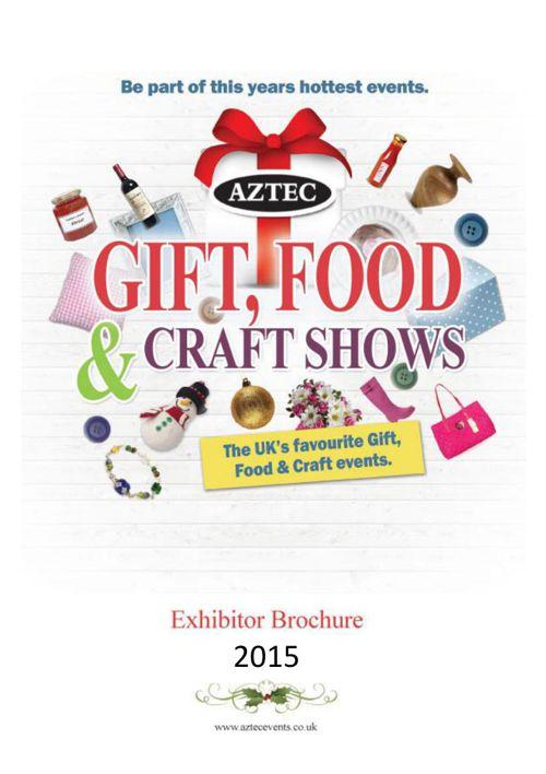 2015 Aztec Craft & Gift Show Brochure