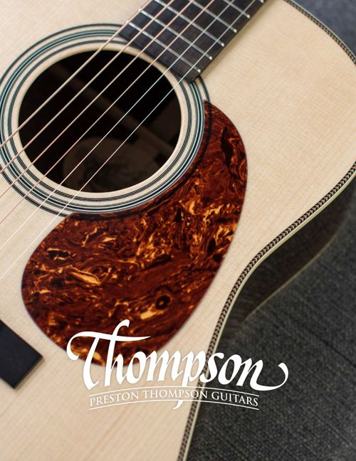 Thompson Guitars Catalog January 2017