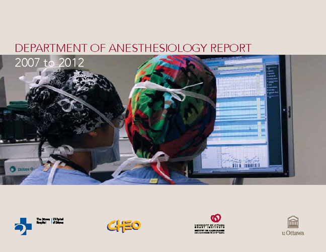 Anesthesiology Report 2012