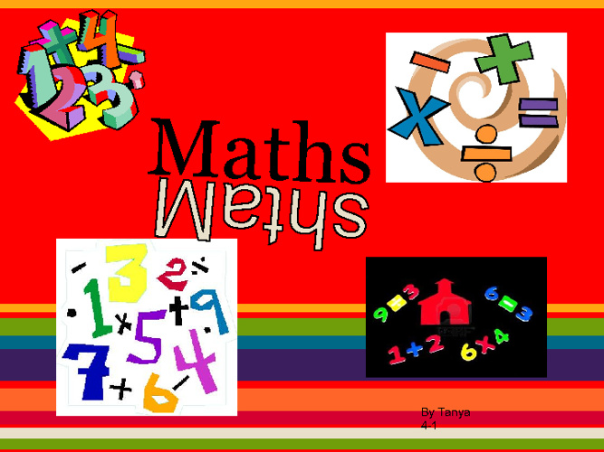 Tanya's Math Journal