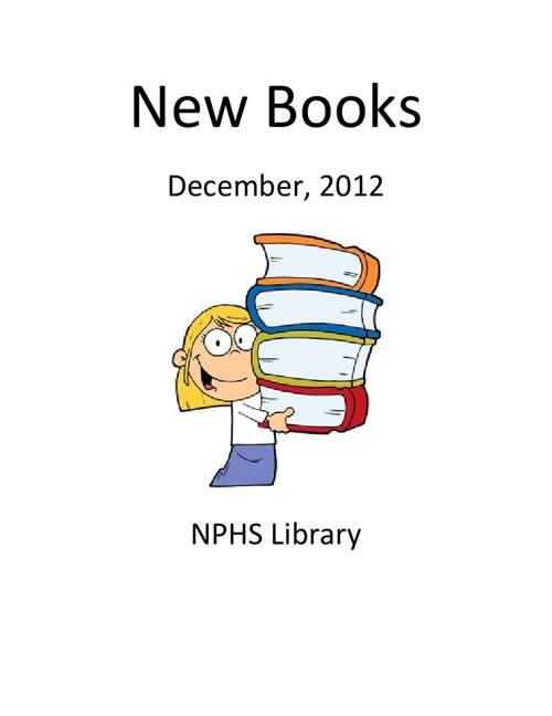 New Books December 2012