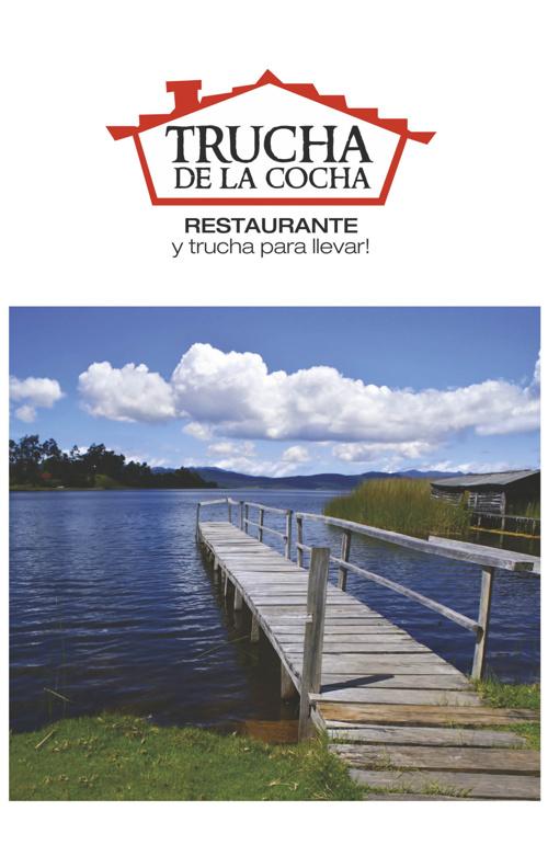 Carta Restaurante Trucha de la cocha