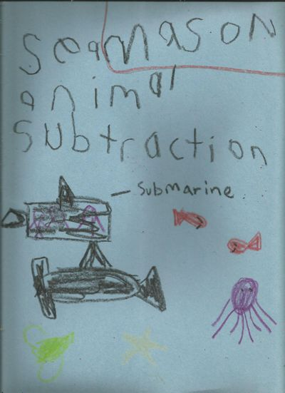 Mason Harvey Subtraction Story Book