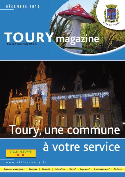 La gazette de Toury - Janvier 2015