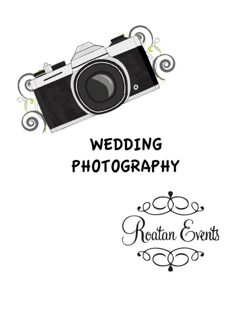 Roatan Events - Photography Options