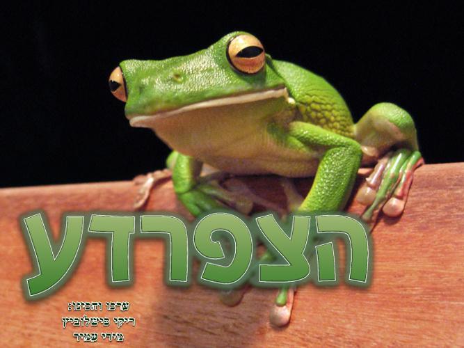 ספר דיגטאלי הצפרדע
