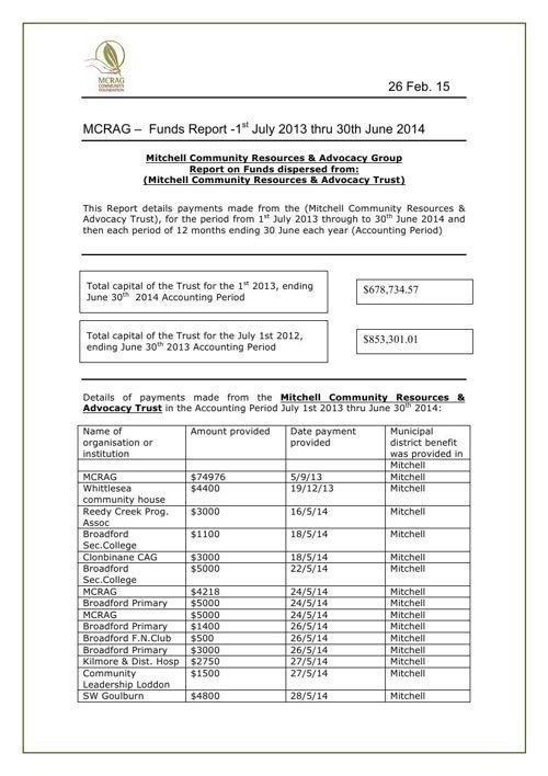 FINAL 2014-06 MCRAG Public Report