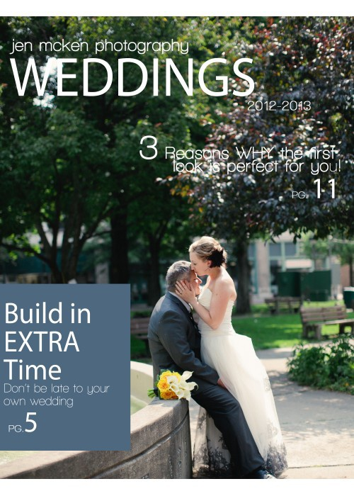 2013-2014 Wedding Guide - Jen McKen Photography