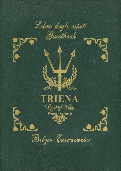 Triena Villas - Βιβλίο Επισκεπτών Θεοδώρα