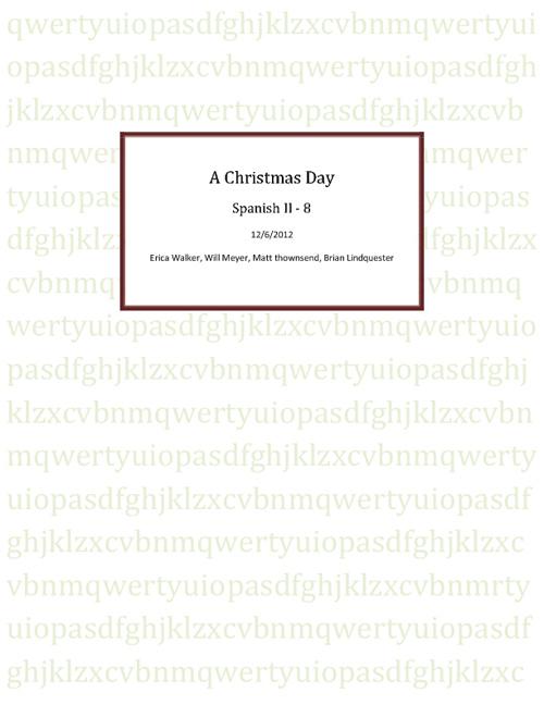 A Christmas Day