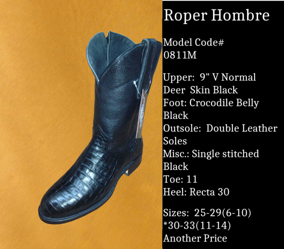 Roper Hombre By Billy Boots Cowboy Boots
