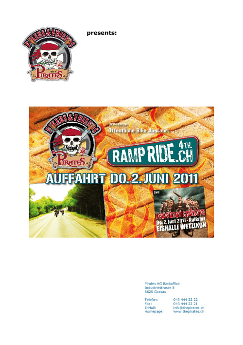 4. Ramp Ride 2011