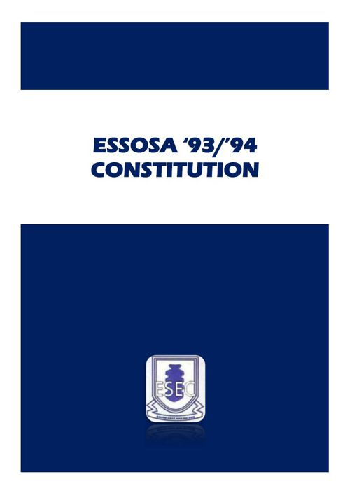 Copy of ESSOSA 93_94 CONSTITUTION