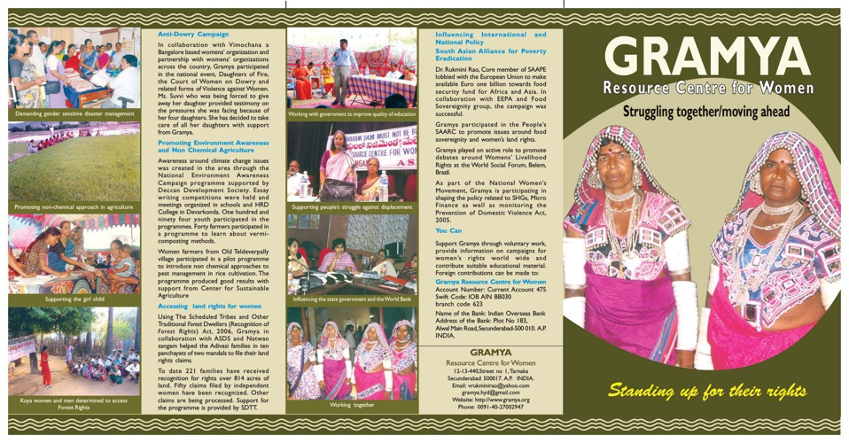 Gramya Resource Centre for Women