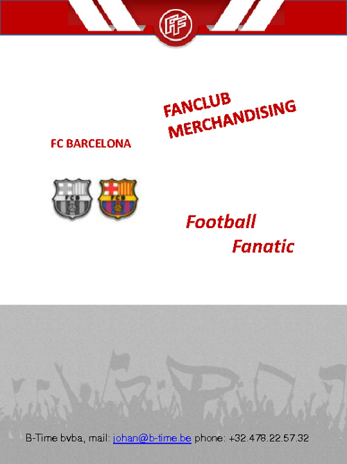 FC Barcelona fan catalogue