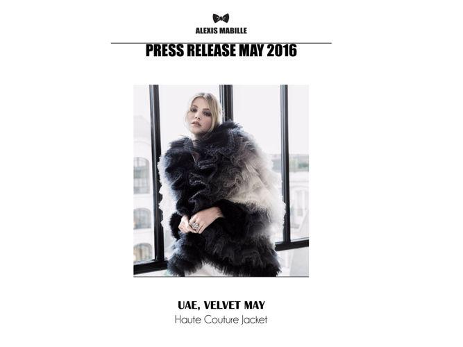 PRESS REALEASE MAY 2016
