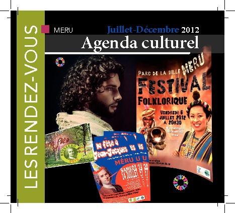 Agenda Culturel Méru _ Juillet Décembre 2012