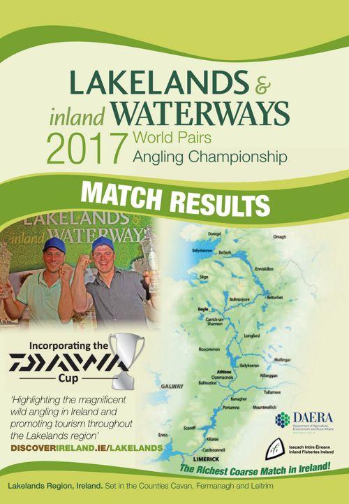 World Pairs Angling Championships 2017 Ireland