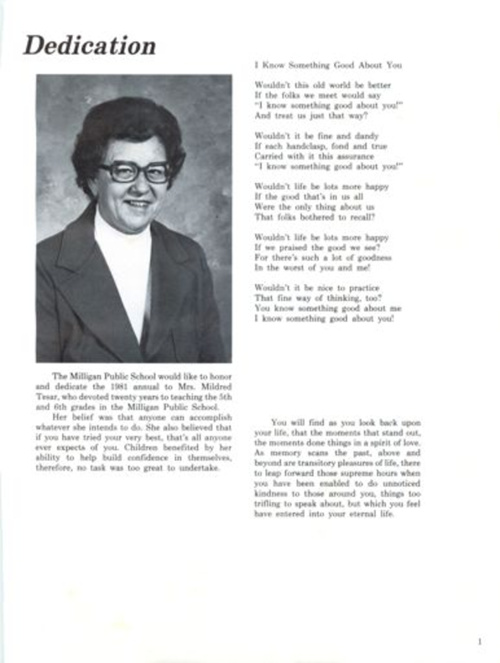 1981 Rooster Yearbook