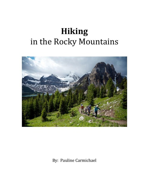 Hiking in the Rocky Mountains 2