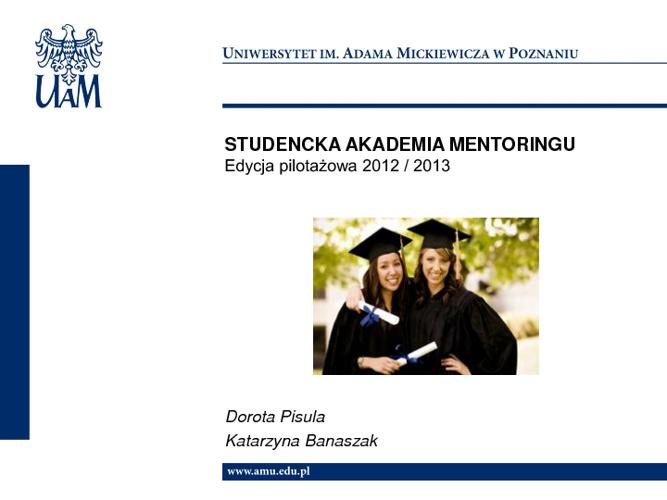 Studencka Akademia Mentoringu