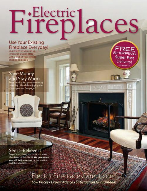 Electric Fireplaces Direct Fall 2014 Catalog