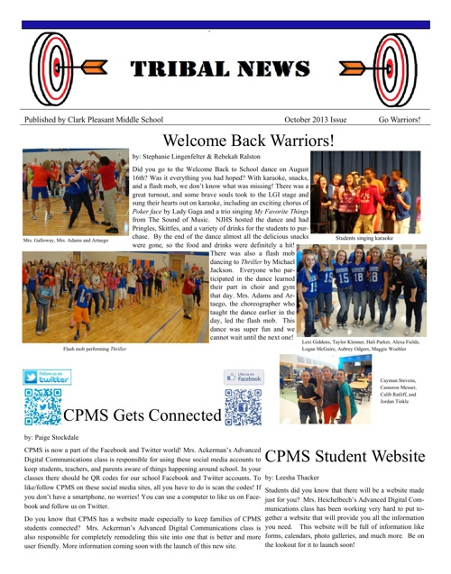October 2013 Tribal News Issue