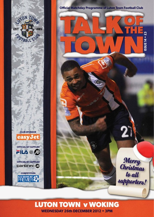 TOWN v WOKING Issue 14