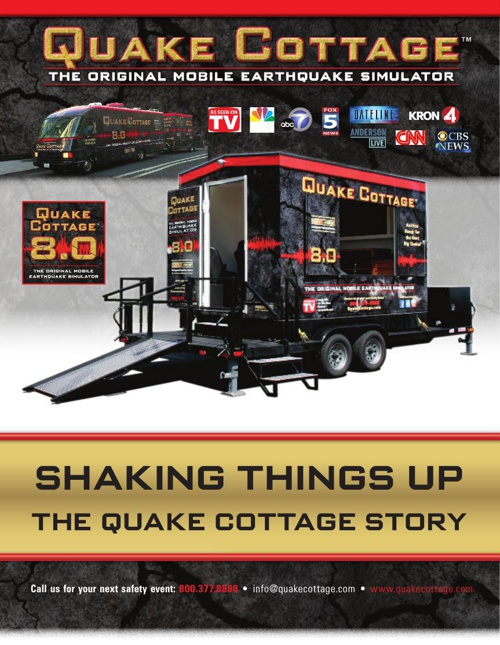 Quake Cottage History