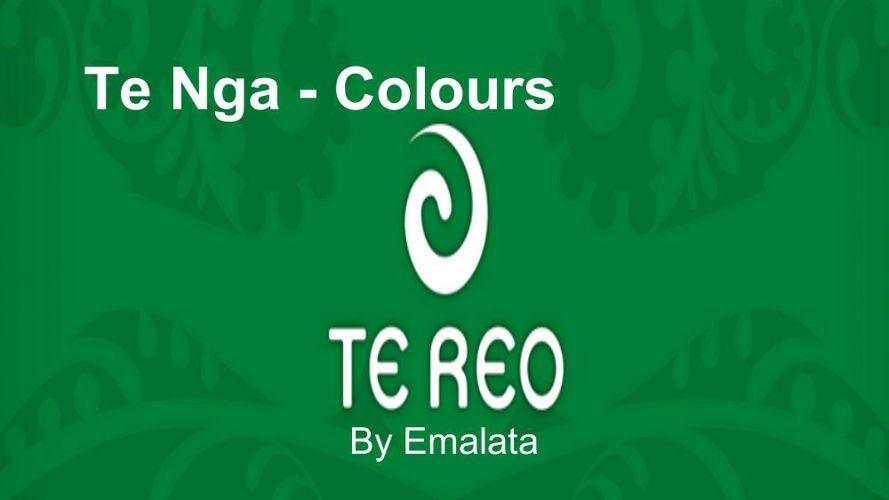 Te Reo - Colours (1)