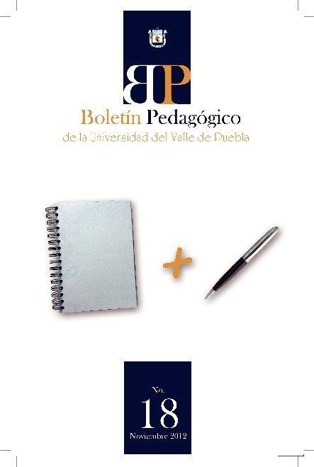 Boletín Pedagógico - Noviembre 2012