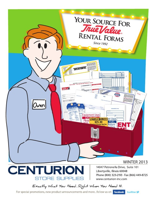 True Value Rental Catalog