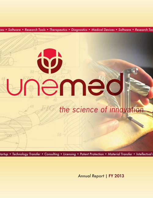 UNeMed Annual Report   FY 2013