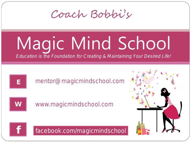 Magic Mind Information Kit March 2014