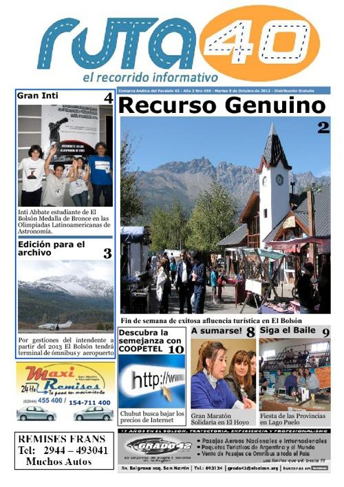 Diario Martes 9 de Octubre de 2012