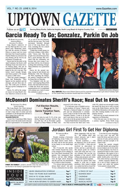 Uptown Gazette 6/6/14