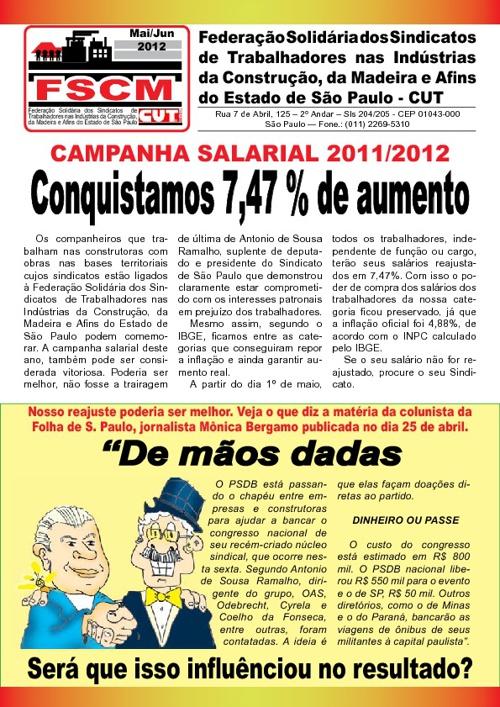 Campanha Salarial - Encerramento - Maio/Junho-2012