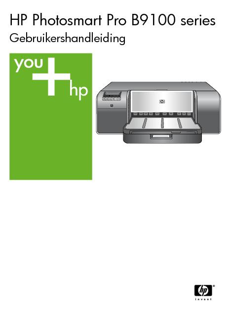 HP Photosmart Pr0 B9100 series Gebruikershandleiding