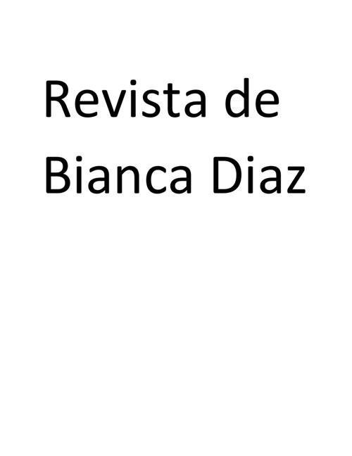 Revista de Bianca Diaz