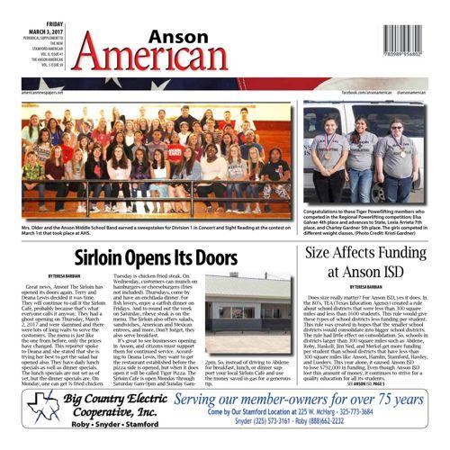 Anson - Vol 8 Issue 31
