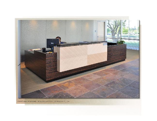 Reception Office Work station -Northwood