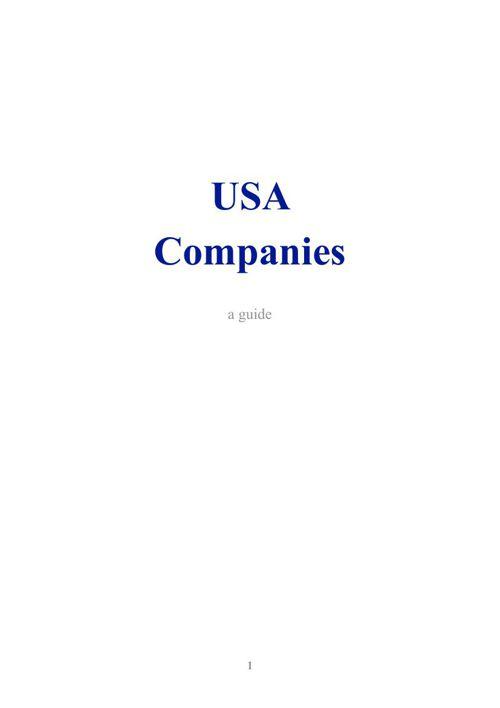EA US Companies